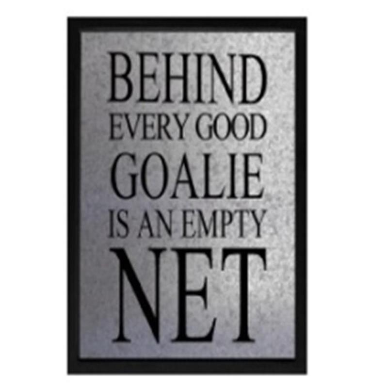 Goalie Empty Net Sign