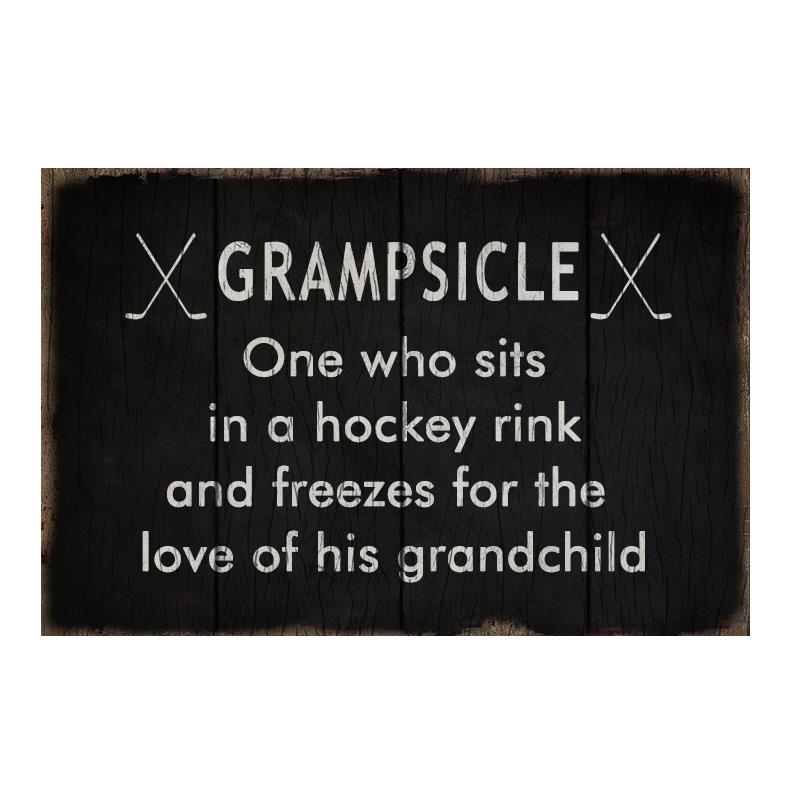 Grampsicle Plaque