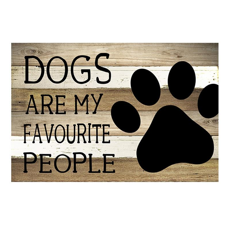 Dog People Plaque