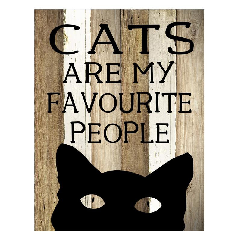 Cat People Plaque