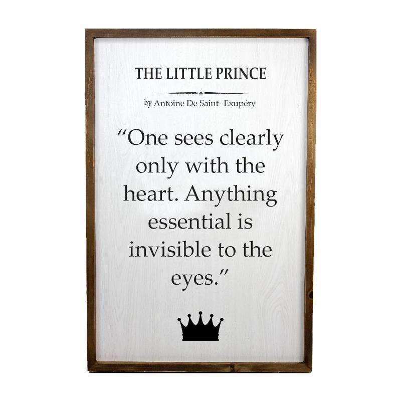 Little Prince Wall Plaque