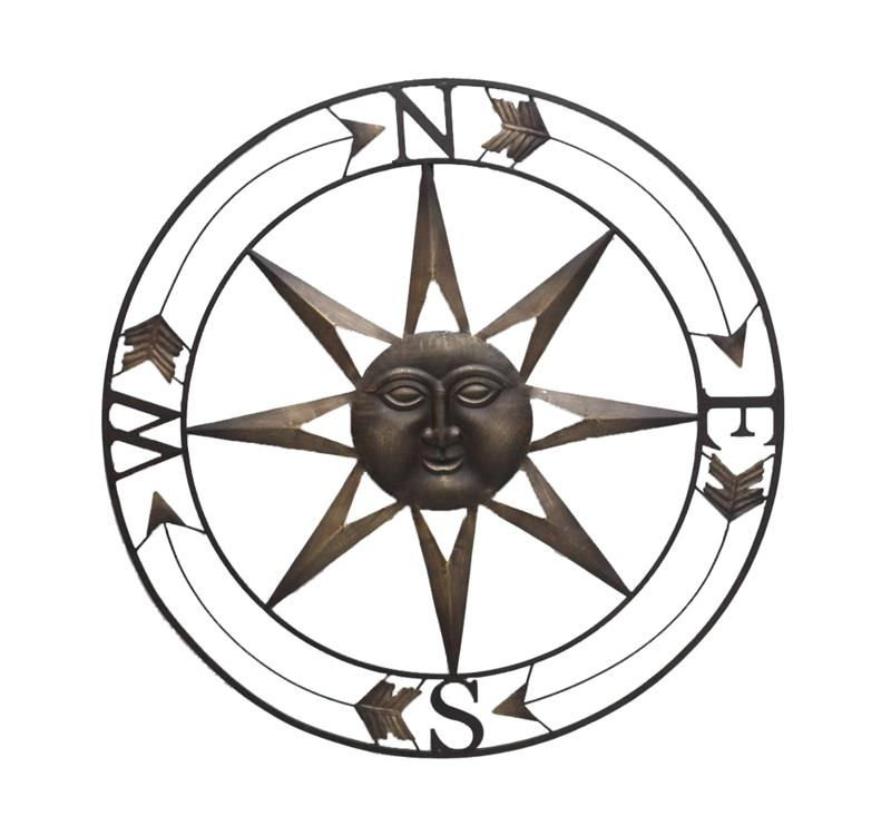 Sun Compass Wall Art