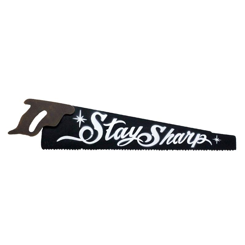 Saw  Plaque - Stay Sharp