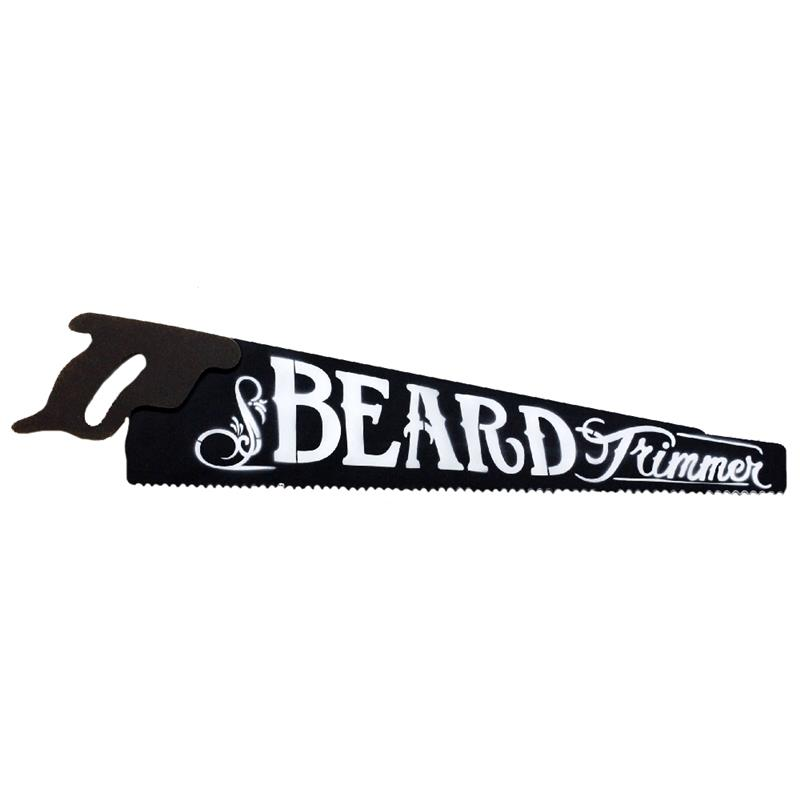 Saw  Plaque - Beard Trimmer