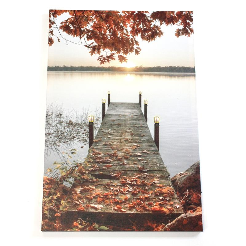 LED Fall Dock Canvas