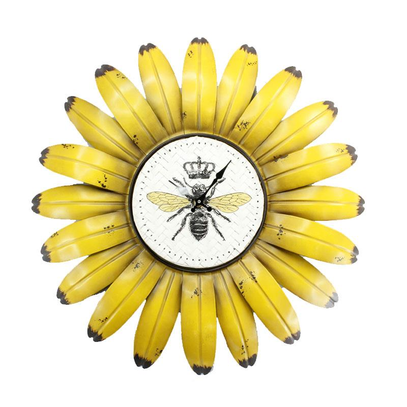 Flower Bee Clock