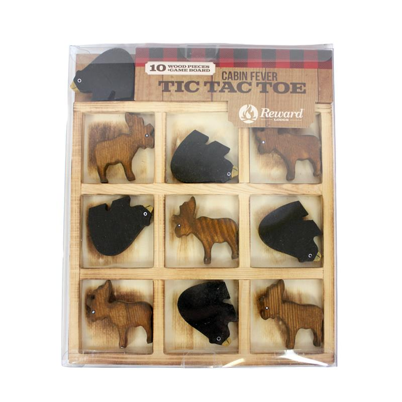 Bear & Moose Tic-Tac-Toe