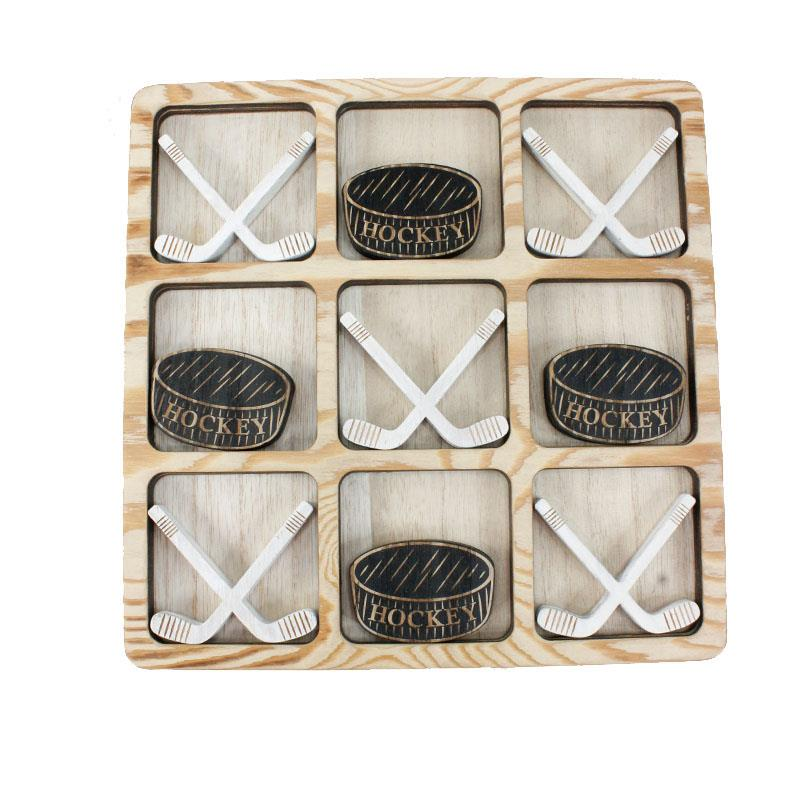 Hockey Tic Tac Toe Set