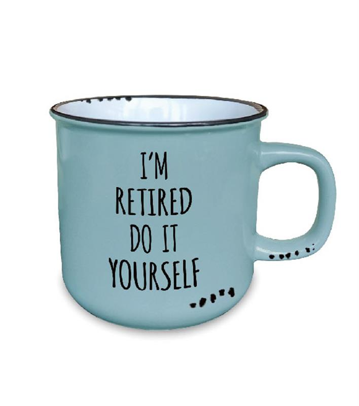 Retired Mug 10oz