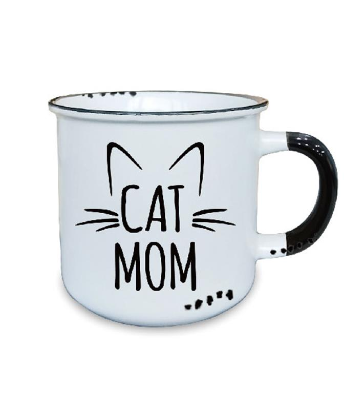 Cat Mom Mug 10oz