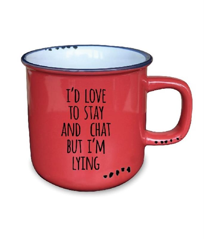 Stay & Chat Mug 10oz