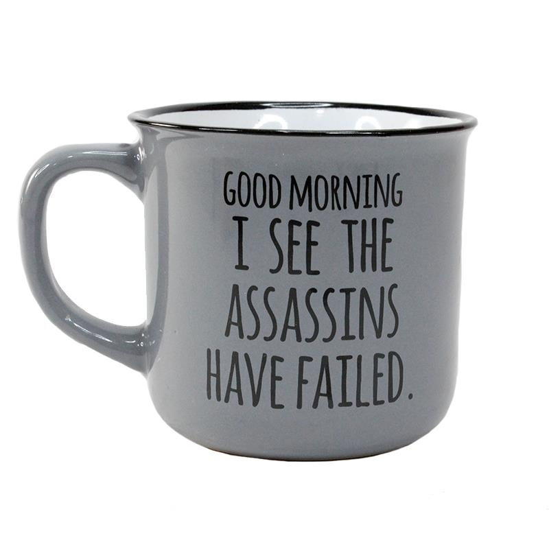 Assassins Have Failed Mug 10oz
