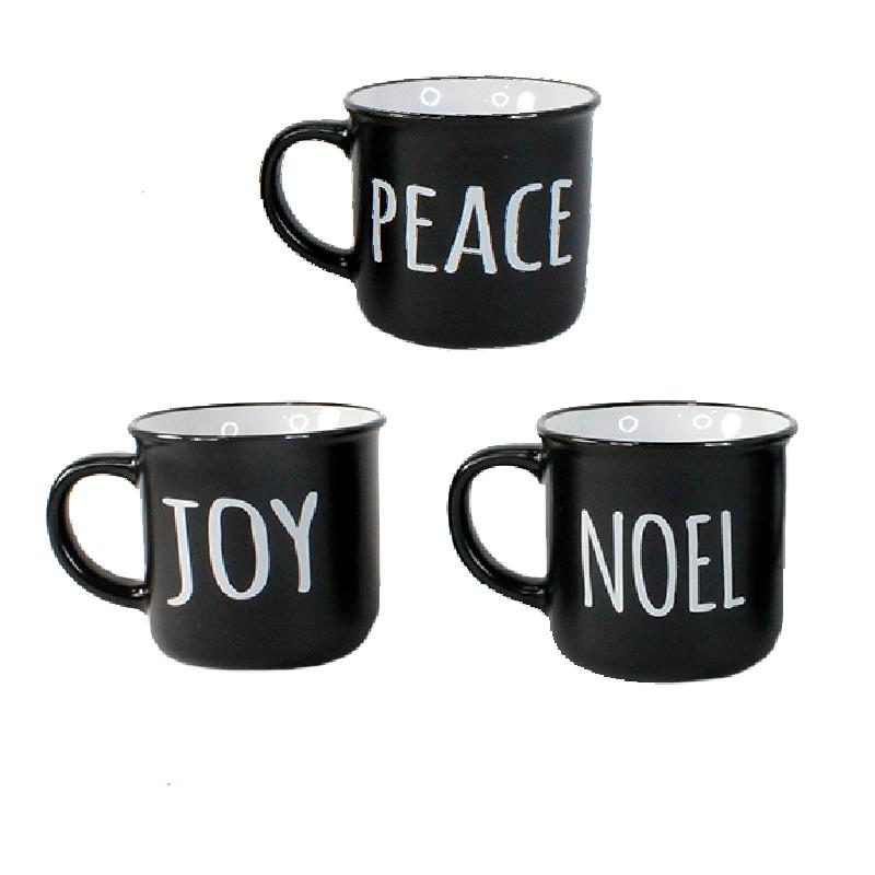 3 Assorted Holiday Mugs