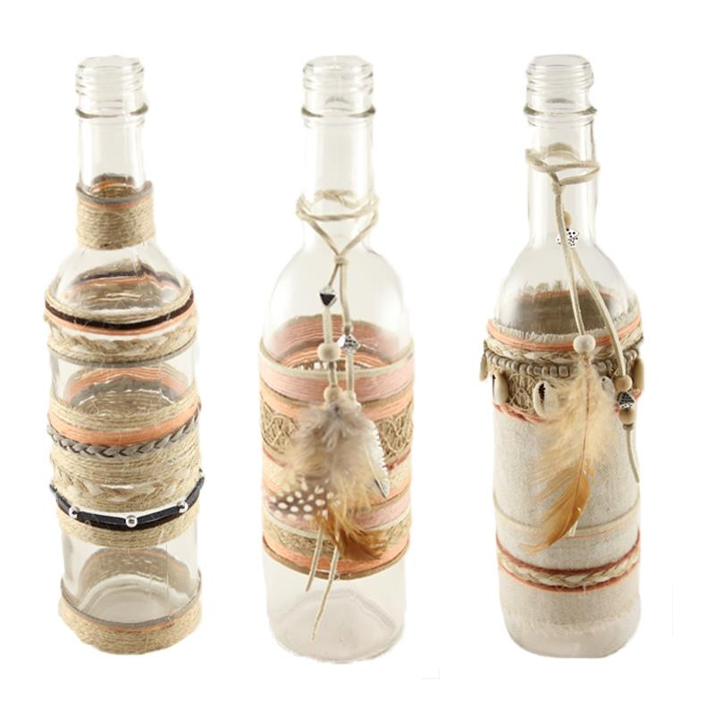 Fabric Bottles 3 Assorted
