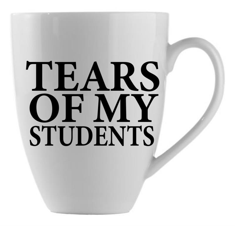 Mug Tears Students  21oz