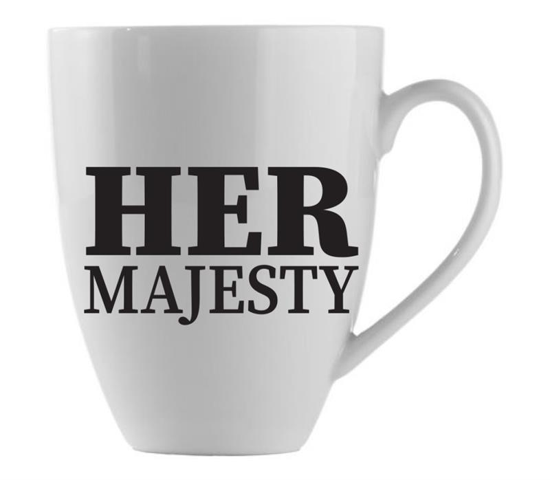 Mug Her Majesty  21oz