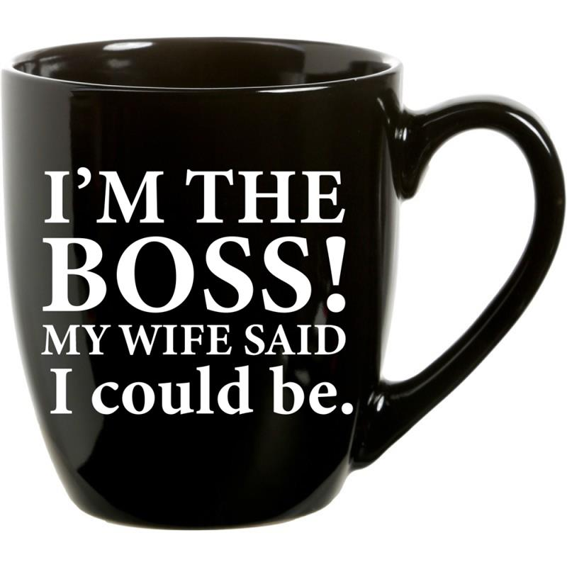 Mug I'm The Boss  21oz