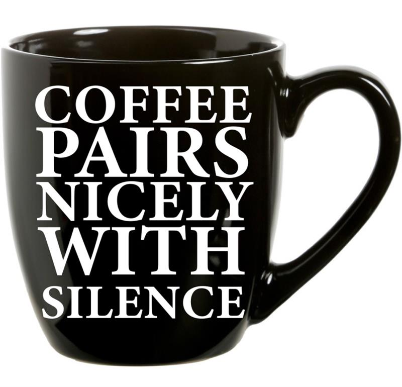 Mug Coffee Silence  21oz