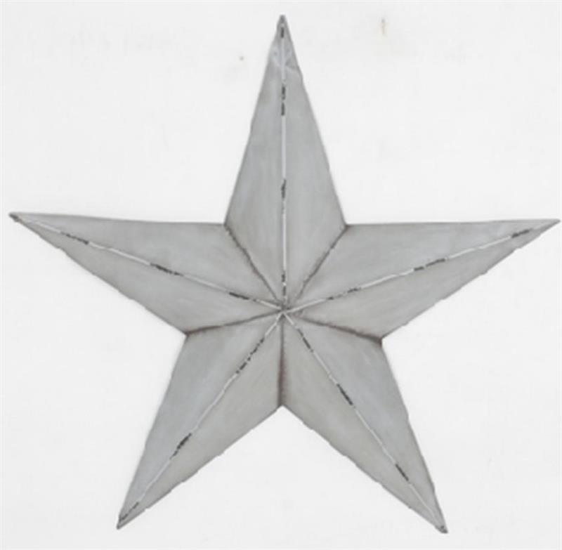 White Star Wall Decor