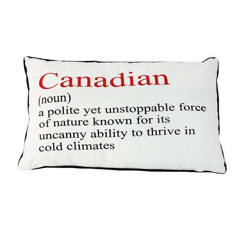 Canadian Definition Pillow