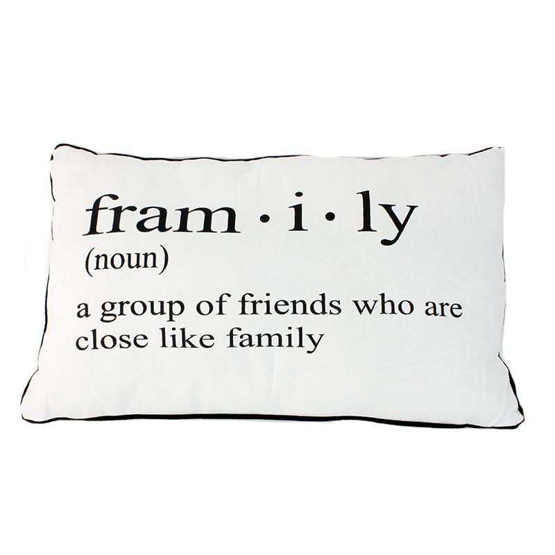 Framily Definition Pillow