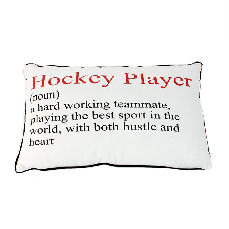 HockeyPlayer Pillow