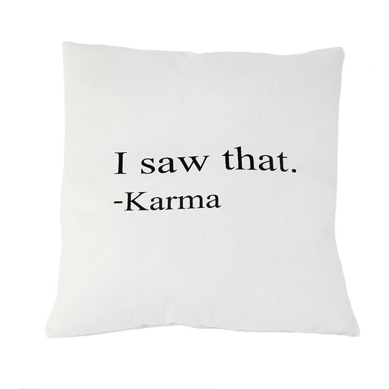 Karma Pillow