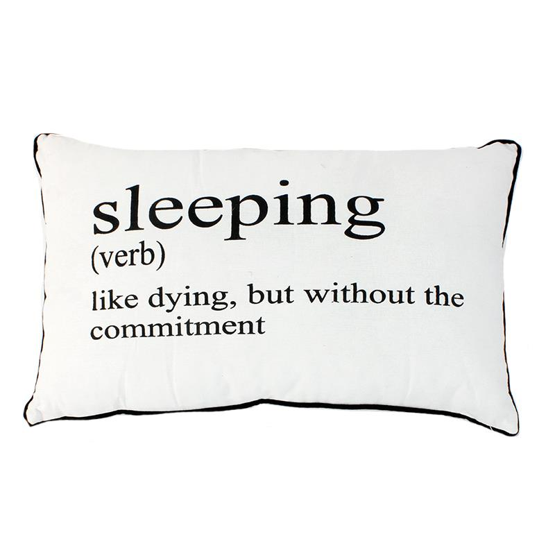 Sleeping  Definition Pillow
