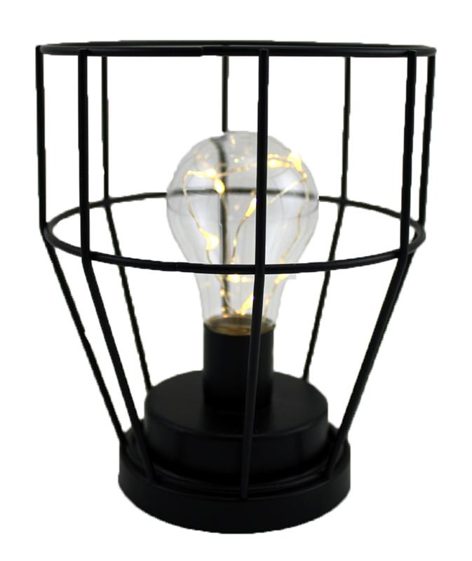 Wire Light Bulb Lantern