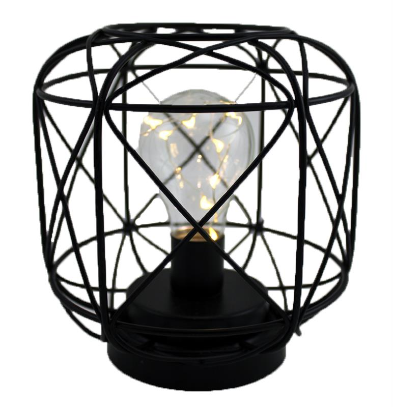 LED Lightbulb Wire Lantern