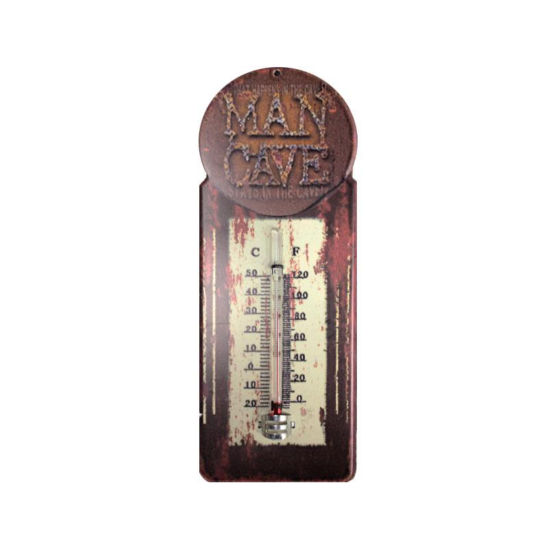 Man Cave Thermometer =