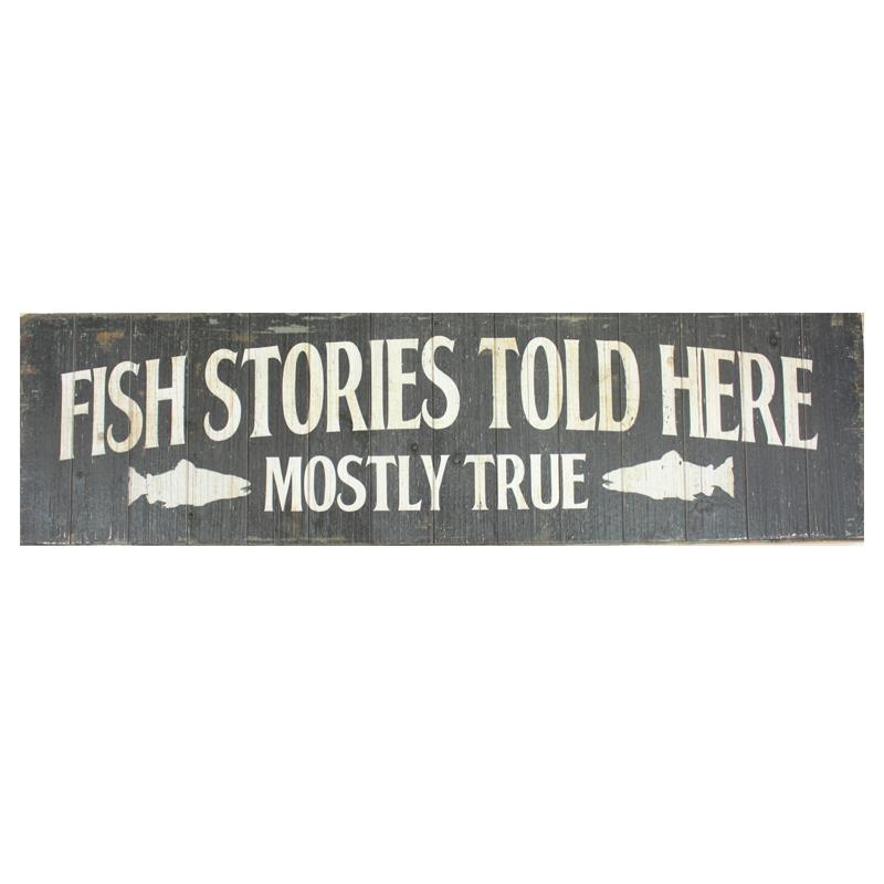 Fish Stories Sign
