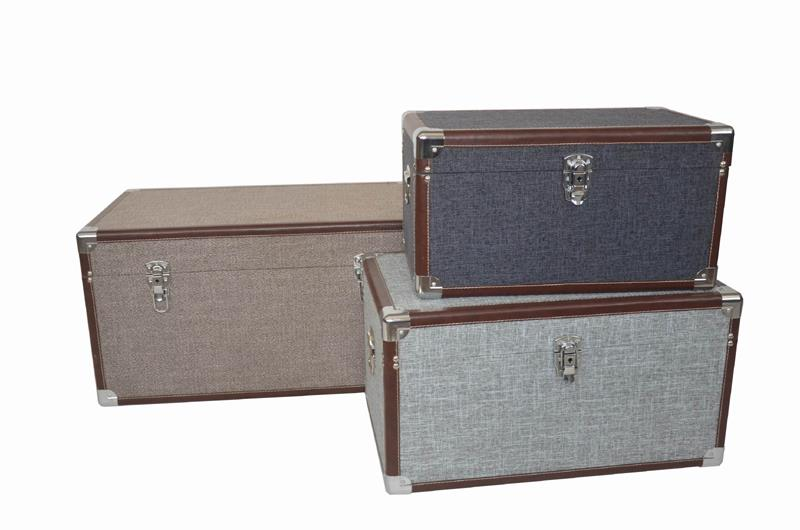 Set of 3 Large Trunks