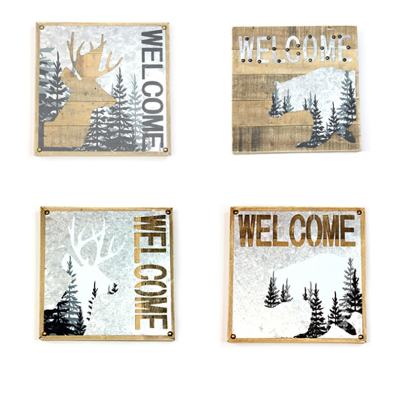 Welcome Plaques