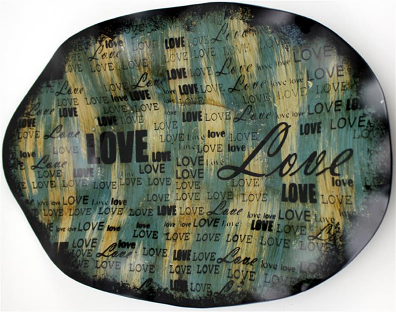 Love Decor Plate