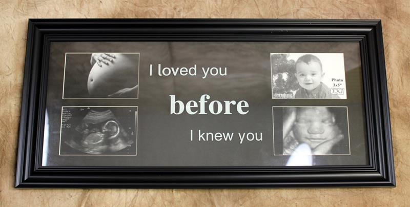 PS COLLAGE FRAME I LOVED YOU..