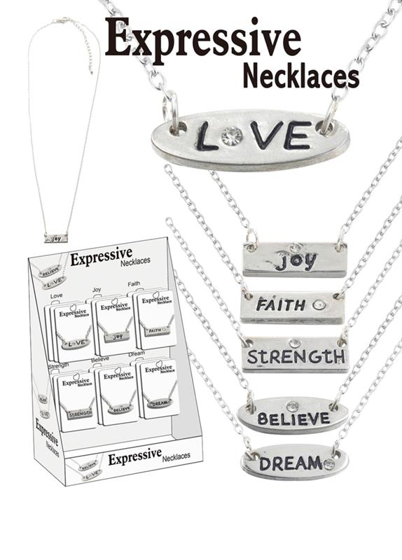 Expressive Necklaces