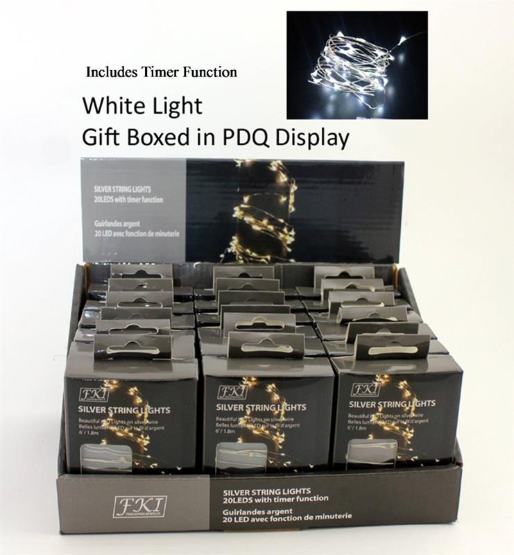 LED 20 Mini Lights Brt White