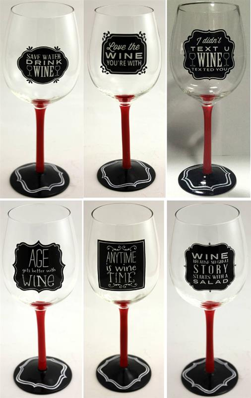 Expression Wine Glass 6 Asst