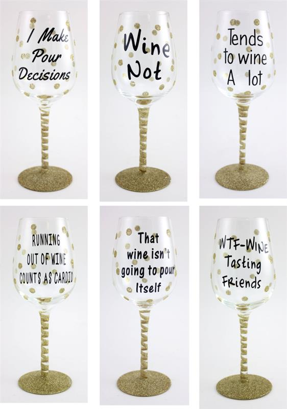 Expression Wine Glasses 6 Asst