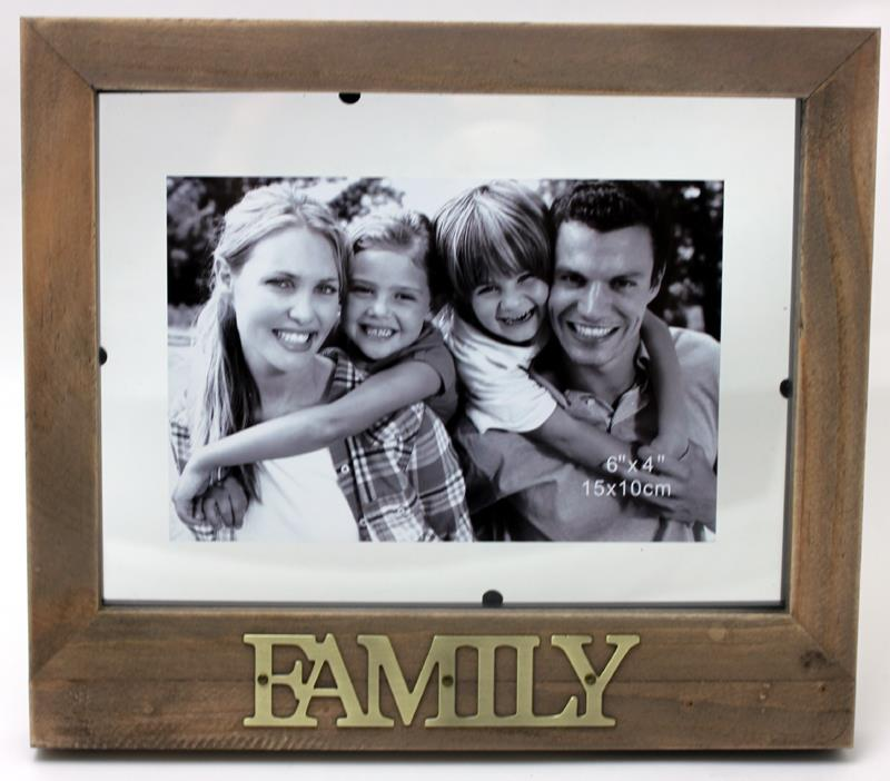 Antique Family Frame