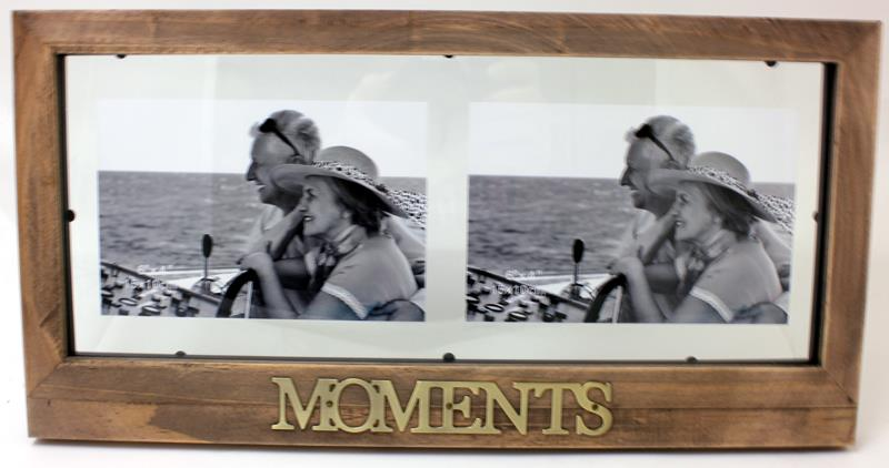 Double Antique Moments Frame