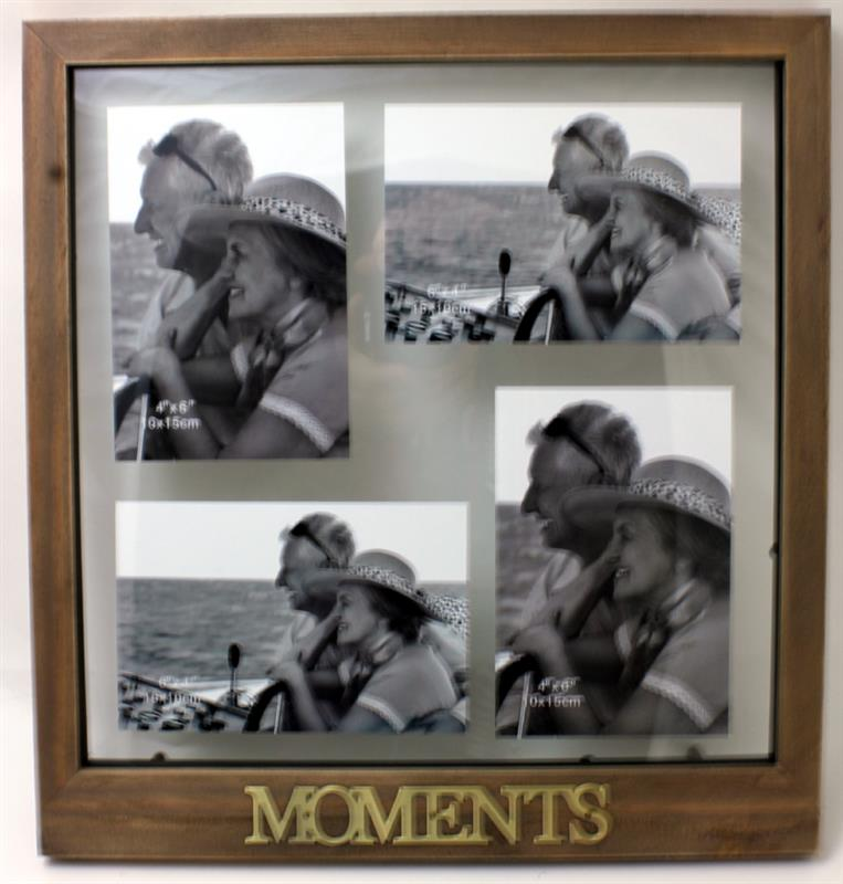 Antique Moments Collage Frame