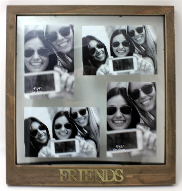 Antique Friends Collage Frame