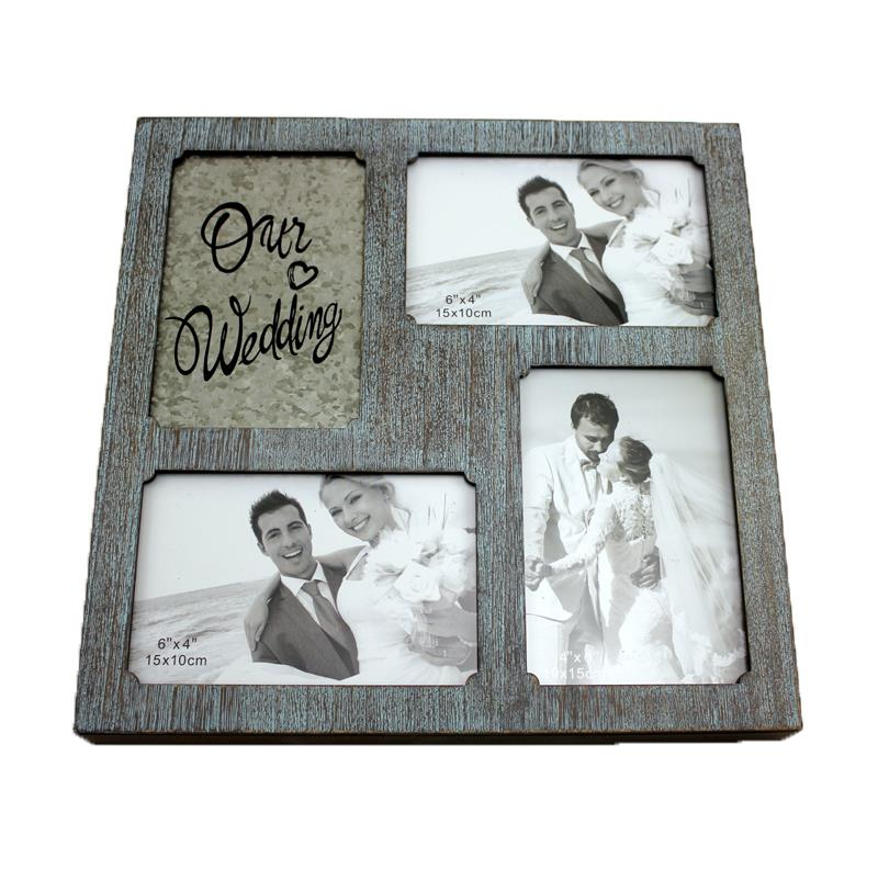 Our Wedding Collage Frame