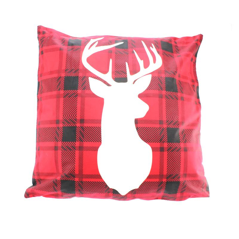 LED Deer Pillow
