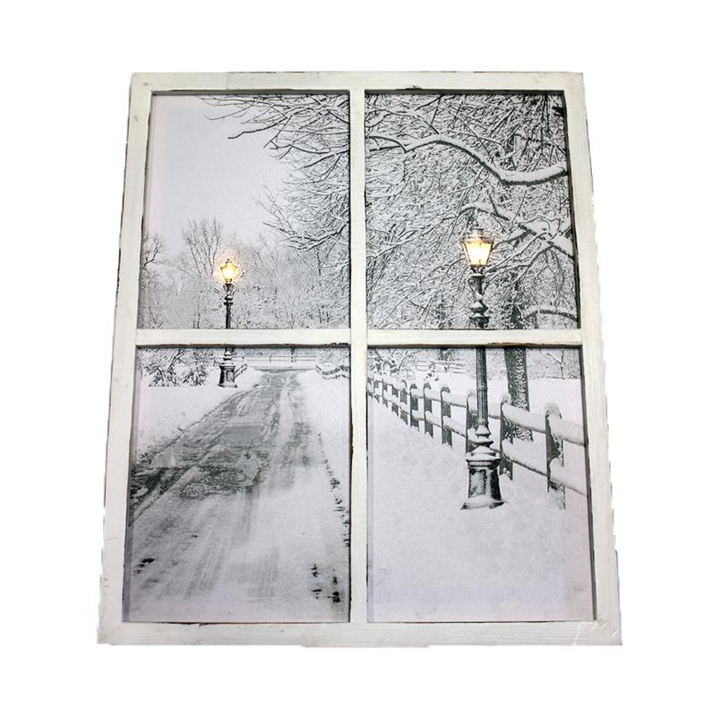 LED Window Lampost Canvas...*