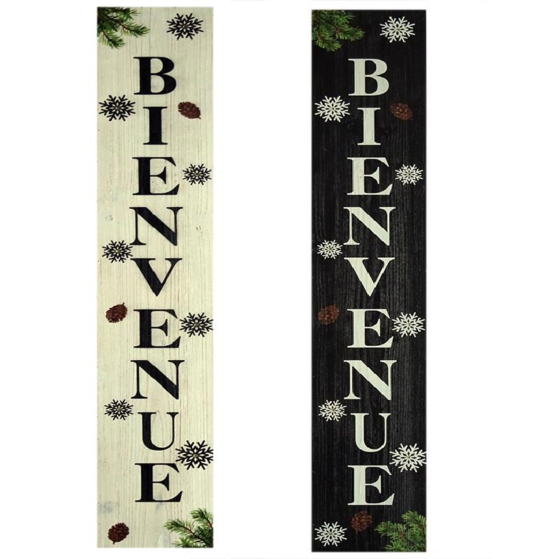 LED Bienvenue Sign