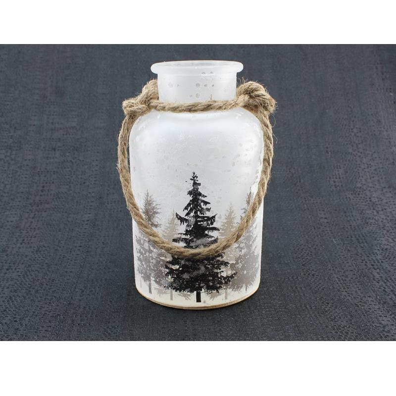 LED Frost Tree Jar