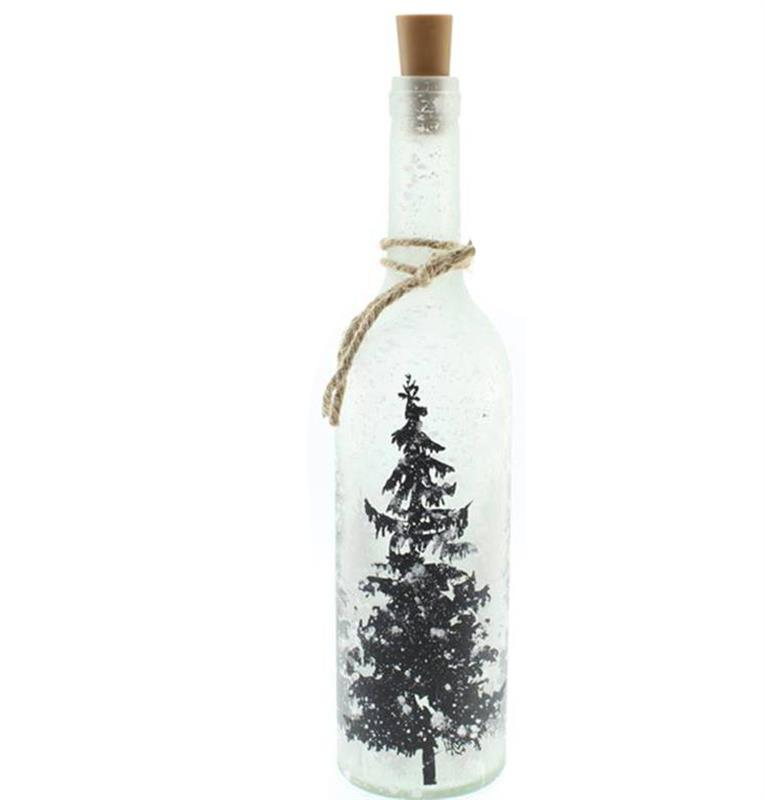 LED Frost Tree Bottle